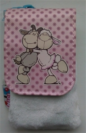 12cm White / Pink Ellsa Phone case